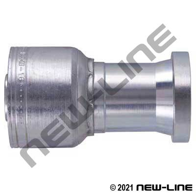 1A Crimp X C61 Flange Straight