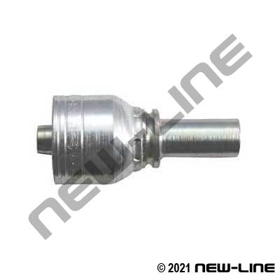 1A Crimp X Metric Standpipe Tube