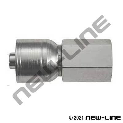 1A Crimp X Female NPT Rigid