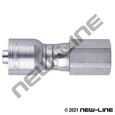 1A Crimp X Female NPT Coupling