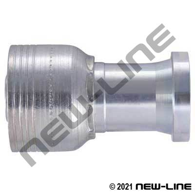 1B Crimp x C61 Flange Straight