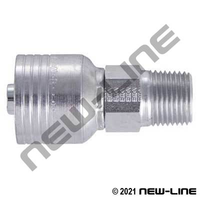 1B Crimp x Male NPT Rigid