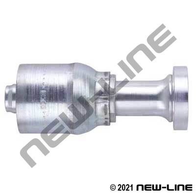 1E Crimp X C62 Flange Straight