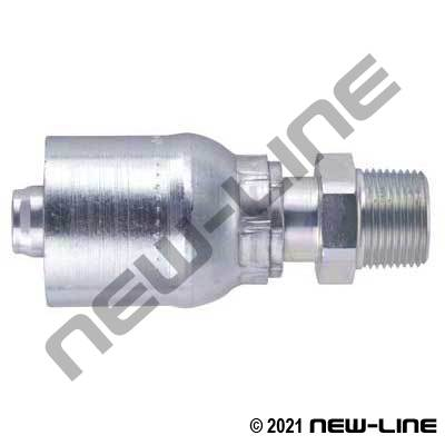 1E Crimp X Male NPT Rigid