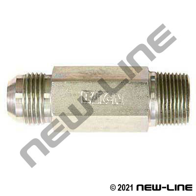 Eaton Male NPT x Male JIC Straight LONG