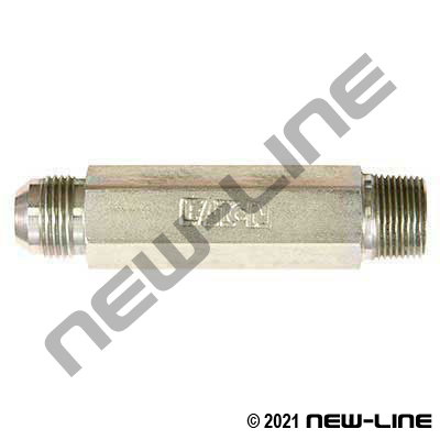 Eaton Male NPT x Male JIC Straight X-LONG