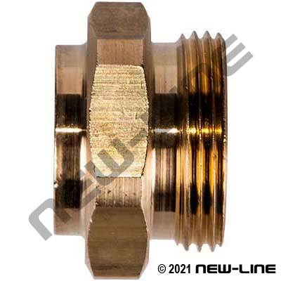 Eaton Brass Adapter x Tube Braze
