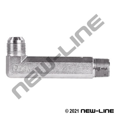 Eaton Male NPT x Male JIC 90° XX-LONG