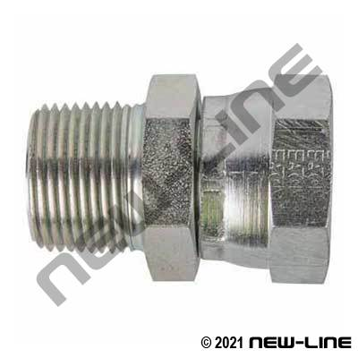 Eaton Female NPSM Swivel x Male NPT Straight