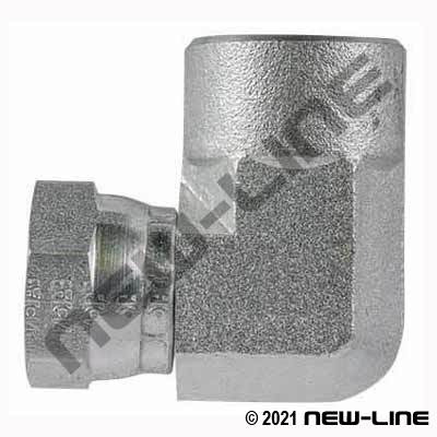Eaton Female NPSM Swivel x Female NPT 90°