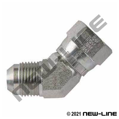 Eaton Female JIC Swivel x Male JIC 45°