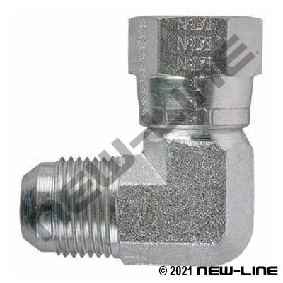 Eaton Female JIC Swivel x Male JIC 90°