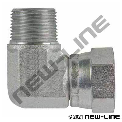 Eaton Male NPT x Female JIC Swivel 90°