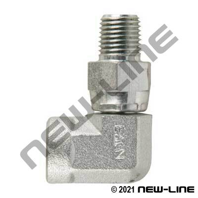 Eaton Female NPT x Male NPT Swivel 90°