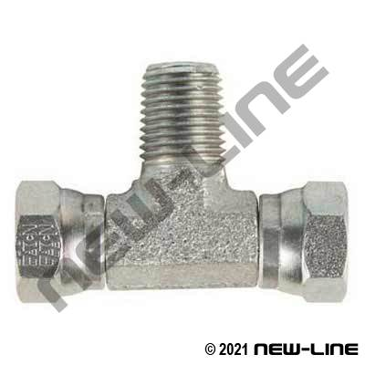 Eaton Female NPSM x Male NPT Branch TEE