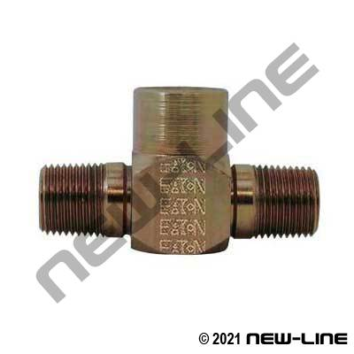 Eaton Male NPT x Female NPT TEE