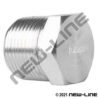 Eaton Stainless NPT Hex Head Plug