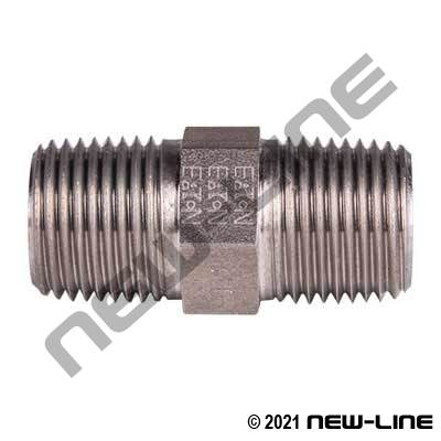 Eaton Stainless Male NPT x Male NPT