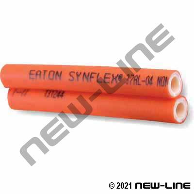Synflex SAE100R7 Orange Non-Conductive Thermo Hydr Twin-line