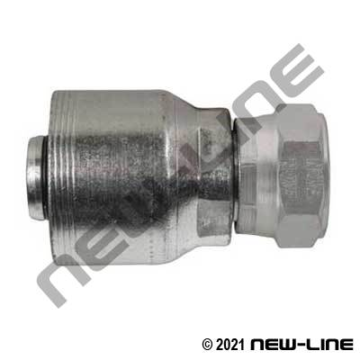 4S Crimp Coupling x Female JIS Swivel Straight