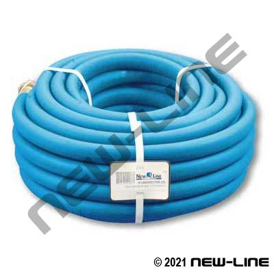 Blue Polyair Garden Hose with MxF Brass GHT