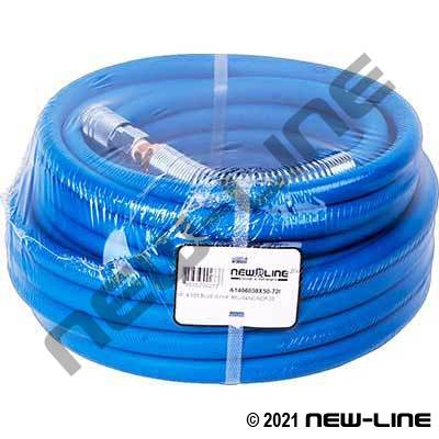 Blue Polyair Hose/Male NPT, Spring Reliever & Automotive QDs