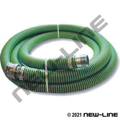 Green Series K Transfer Hose with Female Camlock x MNPT
