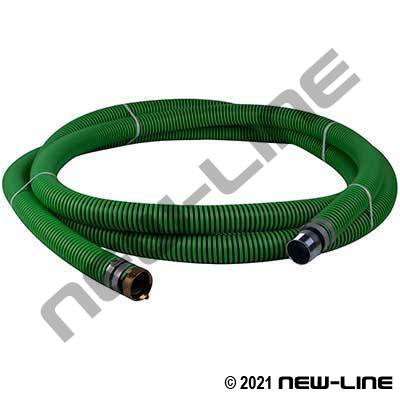 Green EPDM Transfer Hose W/ Female x Male NPS Threaded
