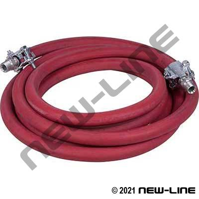 ContiTech Flexsteel 250 EPDM Steam Hose/MNPT Ground Joints