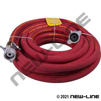 ContiTech 250 CB Cholrobutyl Steam Hose/Female Ground Joints