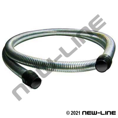 Interlock Metal Hot Tar & Asphalt Hose with Ends
