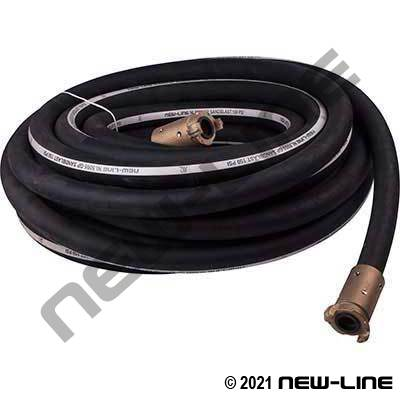 Sandblast Hose with Brass Quick Coupling Each End