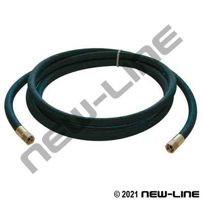 Black Paint & Solvent Spray Hose/Female Swivel NPSM Each End