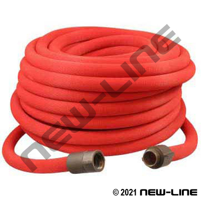 Red UL/FM Reeltex Fire Booster with Hardcoat Aluminum MxF NPSH