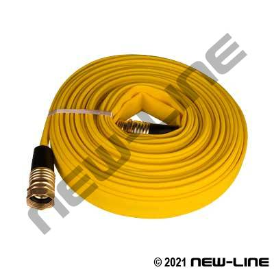 "5/8"" & 3/4"" Yellow Wildland SJ (Treated Cover) with MxF Garden Hose Thread Ends"