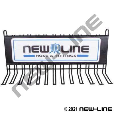 Metal Display Rack with 9 Slots