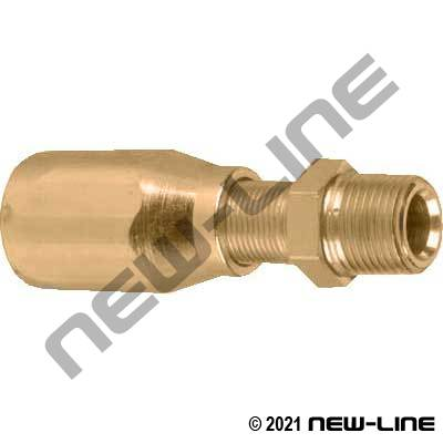 R5 Brass Field Attachable x Male NPT Solid
