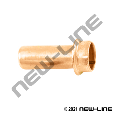 Nylon DOT Tube Brass Push-In Style Insert