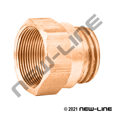 Spring Guard Brass Nut For Rubber DOT Hose
