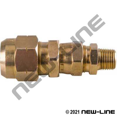 DOT Swivel Coupler Assembly W/Male NPT 4134 Adapter