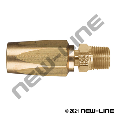 R7 Brass Field Attachable X Male NPT