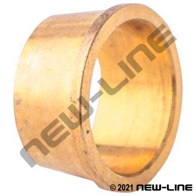 Brass In-Line Compression Sleeve