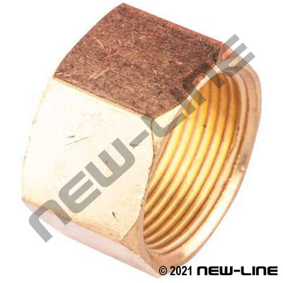 Standard Brass Compression Nut