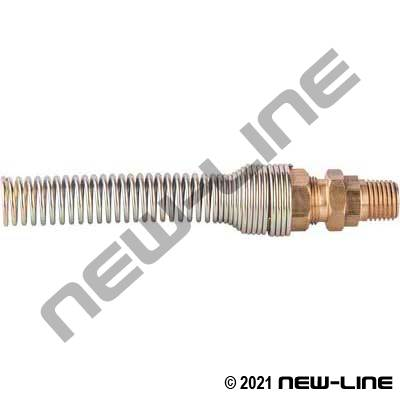Nylon Self Coiling End - Male NPT