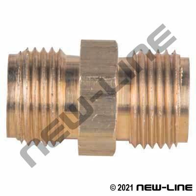 Brass MNPSM x MNPSM Adapter for use with N462-/N461- Series