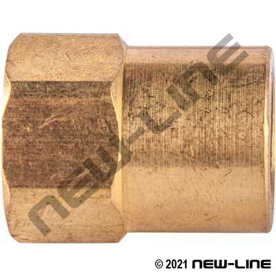 Connector - SAE Inverted Flare x Female NPT