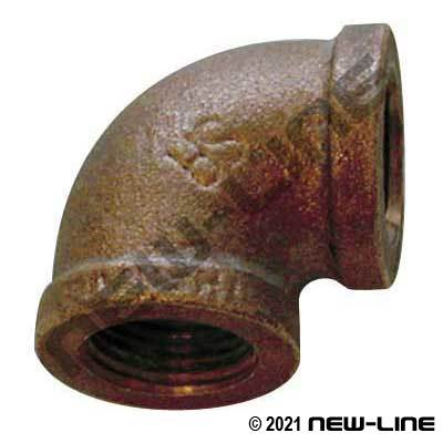 Lead Free LF-100-E Cast Brass 90° Elbow