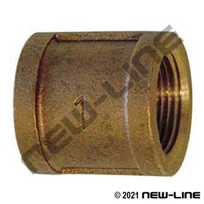 Lead Free LF-103-E Cast Brass Coupling