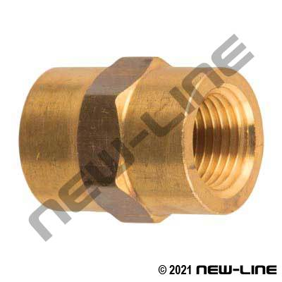 Brass Coupling (Standard/Common)