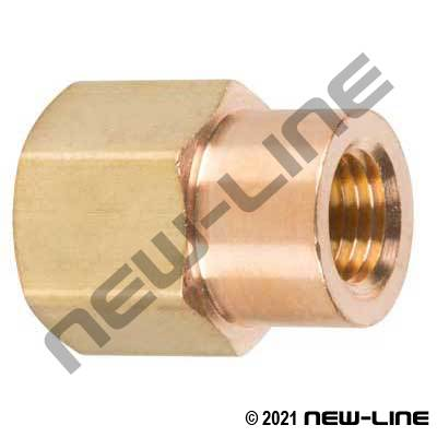 Lead Free Brass Reducer Coupling